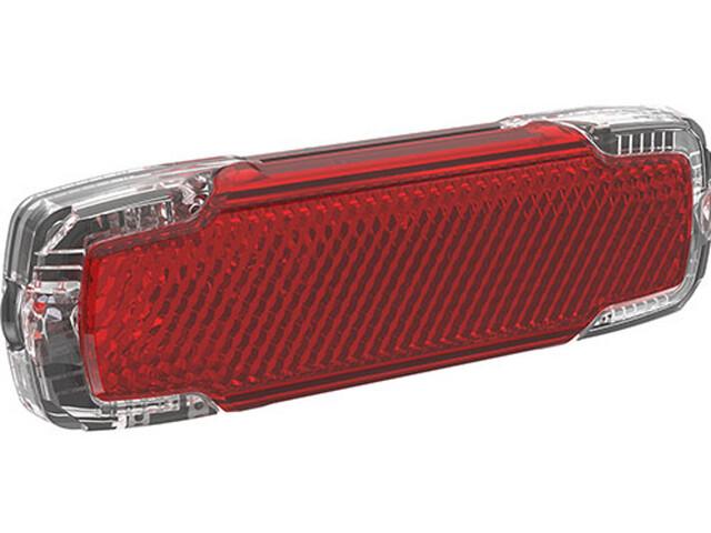 Busch + Müller Toplight 2C Bike Light 50+80mm red/black